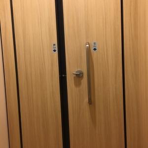 鍵付き授乳室は2部屋