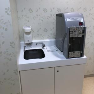 お湯80度・手洗い場