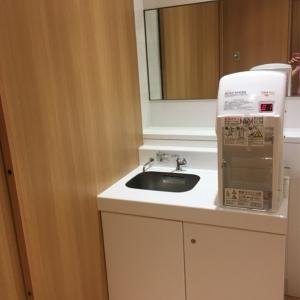 授乳スペースにも給湯器が有ります