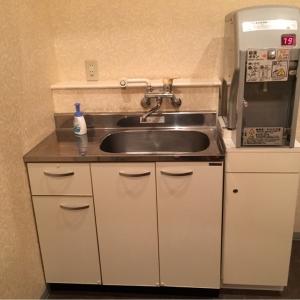 授乳室には給湯とシンクがあります