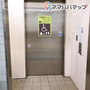 和泉多摩川駅(改札内)のオムツ替え台情報 画像2