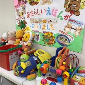 地下1階 絵本やおもちゃ色々