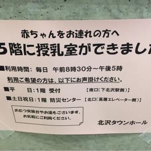 北沢タウンホール(3F)の授乳室・オムツ替え台情報 画像19