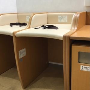 グランスタ八重洲地下中央口改札内(B1)の授乳室・オムツ替え台情報 画像4