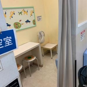 イオン東雲店(2F)の授乳室・オムツ替え台情報 画像5