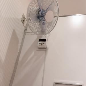 授乳室に扇風機あり