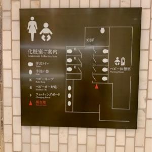 女性用トイレの案内板