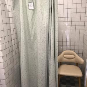 個室(カーテン仕切り)