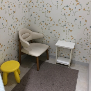 狭い方の授乳室