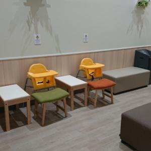 電子レンジはありませんでしたが離乳食をあげられそうな椅子が3台
