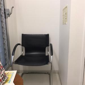 授乳室には椅子が2つ