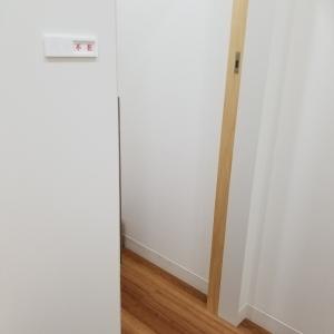 鍵のかかる個室があります。