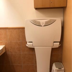 女性用トイレ内