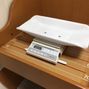 体重計と、その下で身長も測れますね