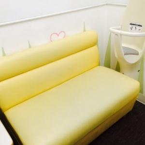 イオン赤ちゃん用品売り場そばの赤ちゃん休憩室内の授乳室