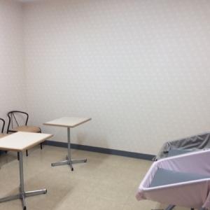 授乳室の向かいにもうひとつ部屋があります