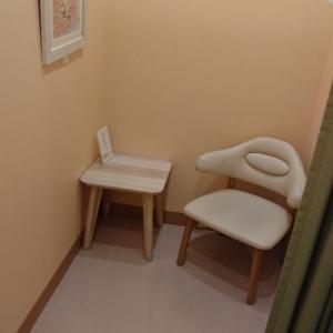 2019年10月授乳室の個室