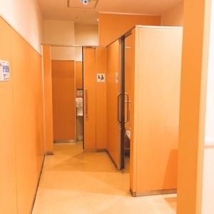 女性用トイレは2個