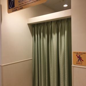 入って左側には授乳室。