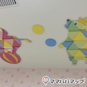 天井にかわいい絵!