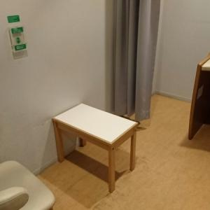 授乳室は一部屋で椅子も一つです