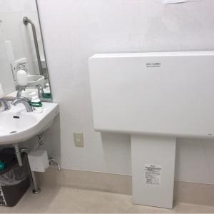 トイレの中にあります。