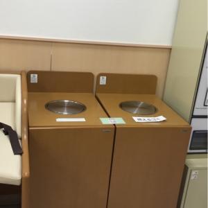 オムツ用でないゴミ箱がすぐ横にあって間違えやすいです!
