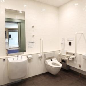 サンシャイン水族館(1F.2F 多目的トイレ)のオムツ替え台情報 画像2