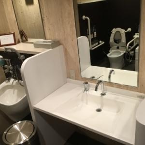 ホテル椿山荘東京(プラザ棟2F(多目的化粧室))のオムツ替え台情報 画像4