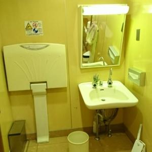 多目的トイレ内部