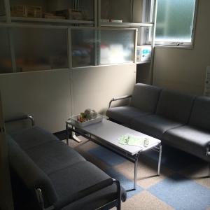 中は事務所の一室;^_^A 裏手にコピー機とか置いてあります。
