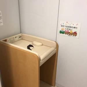 授乳室のオムツ替え台