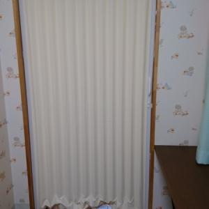 授乳室内からのカーテン