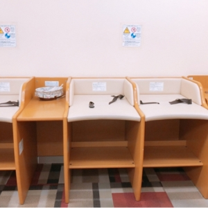 姫路山陽百貨店(6F ベビーサロン)の授乳室・オムツ替え台情報 画像2