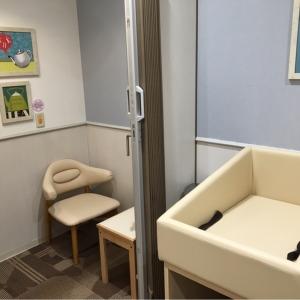 授乳室は手前と奥に1か所ずつ