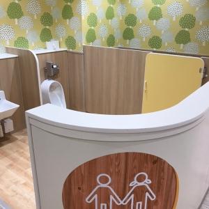 授乳室の近くにある子供用トイレ
