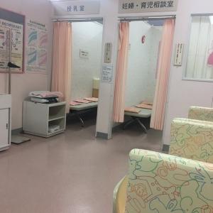 授乳室が2部屋あります。それぞれにオムツ台もあります