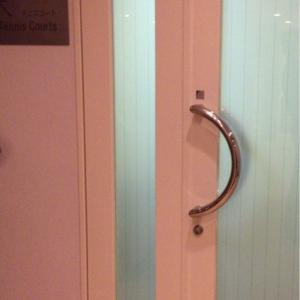 授乳室の入り口