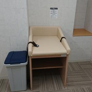 授乳室オムツ替え台