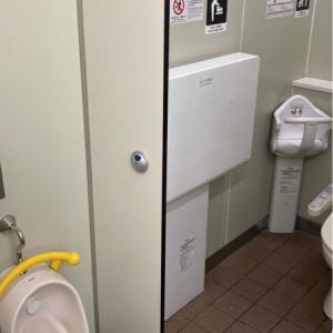 西口・女性トイレ