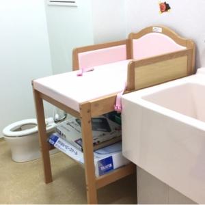 幼児用トイレもあります。