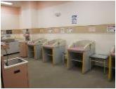 イオン市川妙典店(3階 赤ちゃん休憩室)の授乳室・オムツ替え台情報 画像7