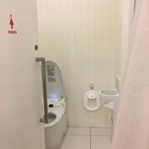 同じ部屋に女性用トイレが併設