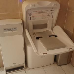 京都高島屋(7F 多目的トイレ)のオムツ替え台情報 画像2