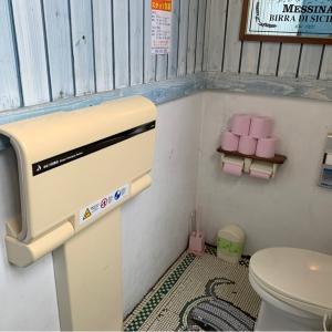 女性用トイレオムツ台