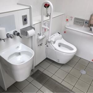 だれでもトイレ(2019年撮影)