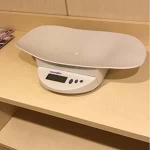 体重計あり。