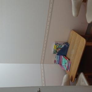 授乳室。雑誌が設置されていました。