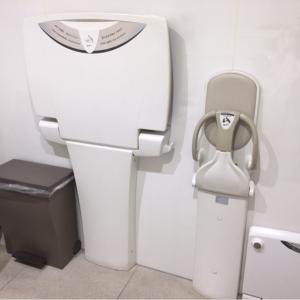 ゴミ箱もあり清潔なトイレです。