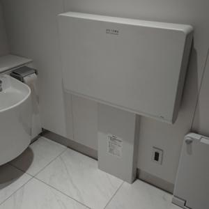 多目的トイレのおむつ交換台